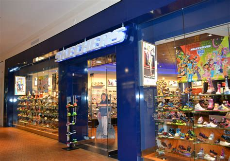 Skechers Mall by Interior Mall Fronts Midland Glass