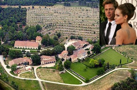 hollywood celebrity houses angelina jolie and brad pitt s holy cow a rare look inside 26 jaw droppingly extravagant
