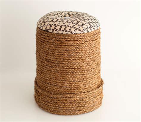 ottoman vire minha casa container diy pufe de balde minha casa container