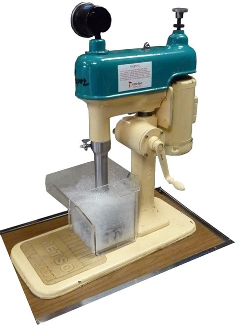 Bench Plaque D 12 Lab Flotation Machine Sepor