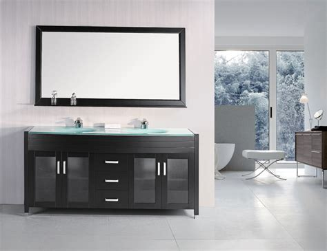 Inch Double Sink Bathroom Vanity - adorna 72 inch modern double sink bathroom vanity set