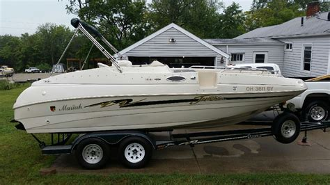 1999 mariah deck boat jubilee mariah jubilee 1999 for sale for 9 500 boats from usa