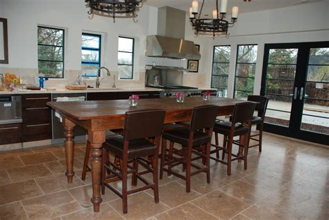 island tables for kitchen with chairs kitchen island table best home decoration class