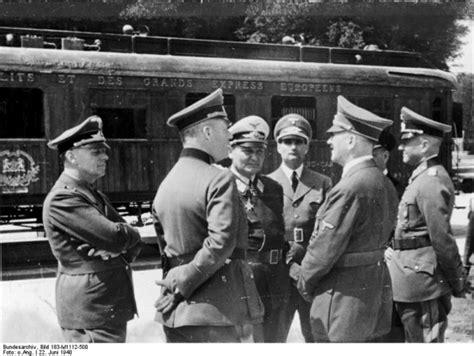 biografi von hitler 22 june 1940 the french sign the armistice