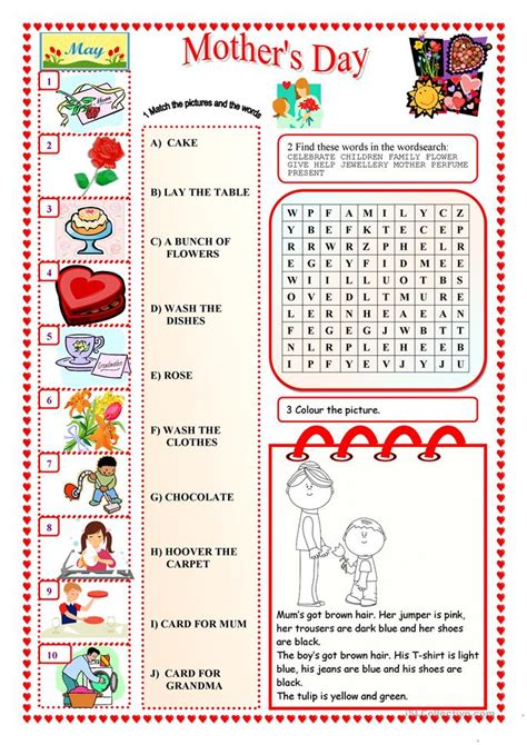 s day song esl s day worksheet free esl printable worksheets