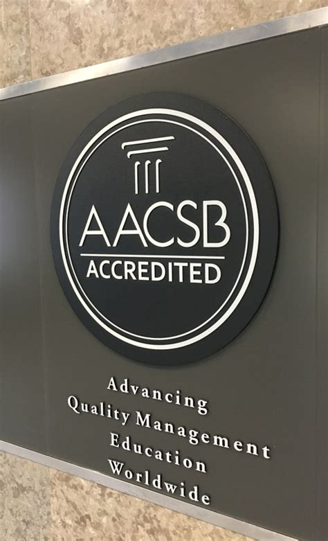 Mba Accreditation Aacsb by College Of Business Granted Extended Accreditation