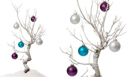 193 rbol de navidad con ramas adornos de fieltro