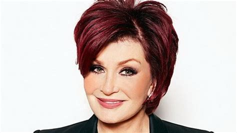 Sharon osbourne haircut