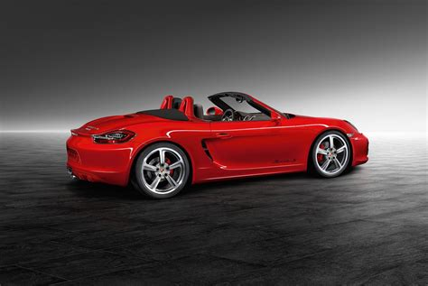 red porsche porsche exclusive reveals guards red boxster s carscoops