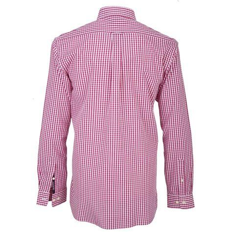 Gingham Shirt gant pink gingham check shirt