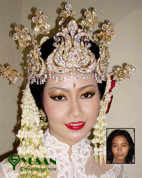 make up dan baju pengantin modern dekorasi pelaminan yusan dan tata rias yusan griya