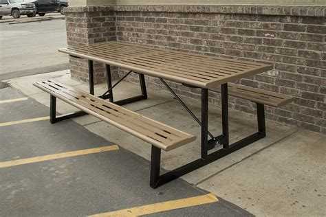 metal picnic tables cing picnic tables