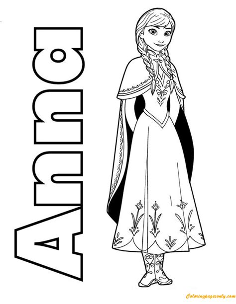 frozen spring coloring pages anna frozen coloring page free coloring pages online