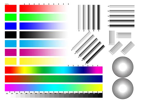 printer test chart final jpg 3508 215 2480 print tests