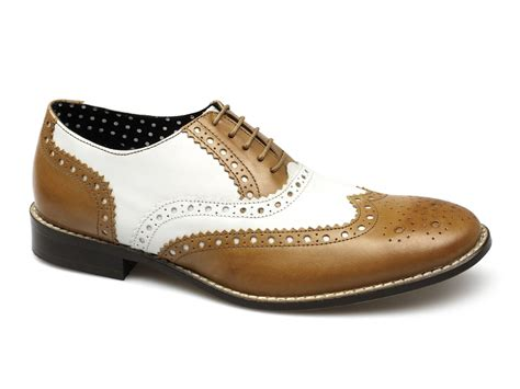 brogues boots brogues gatsby mens leather shoes white buy
