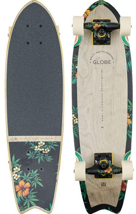 cruiser longboard globe sagano 26 quot cruiser skateboard complete grey