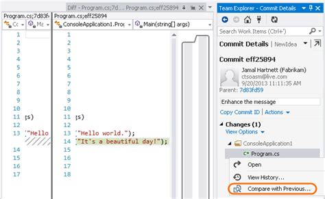 visual c in 2013 and beyond qa visual c team blog share your code with git using visual studio 2013