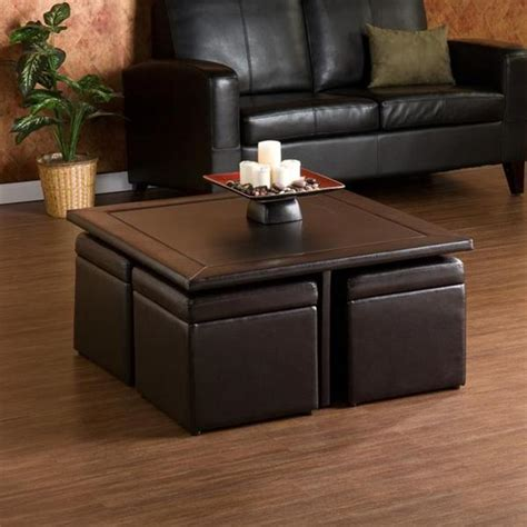 overstock ottoman coffee table upton home crestfield dark brown coffee table storage