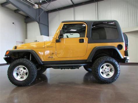 2003 Jeep Wrangler Hardtop 2003 Jeep Wrangler Tj Sport Na Prodej