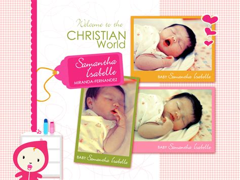 happy christening card template birthday christening invitation by darlene sanguenza