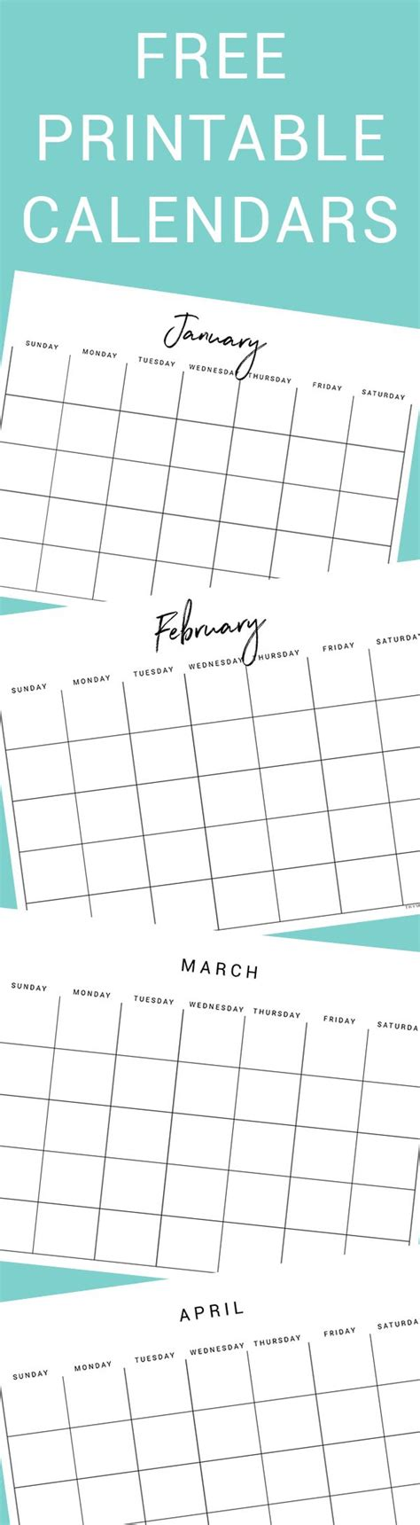 printable calendar 6 x 9 free printable calendars free printable calendar
