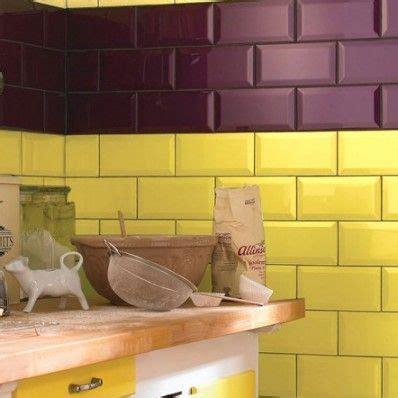 metro yellow wall tile   bright modern