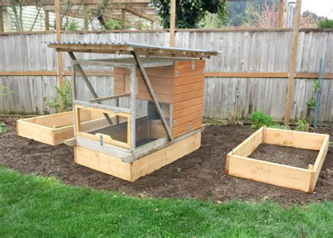 plans for raised garden bed build raised garden beds for your chicken coop free plans coop thoughts blog