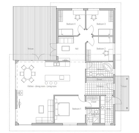 affordable home plans affordable house plan ch28