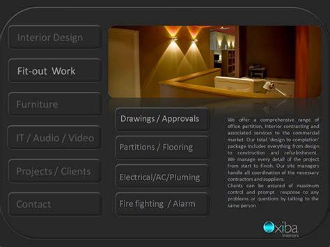 company profile of interior design firm oxiba interiors dubai dubai interior design design