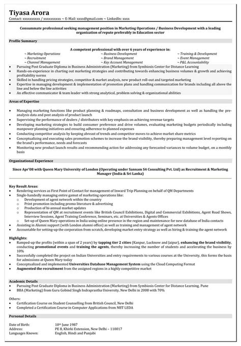 Resume Format Doc For Manager Level Doc 672928 Amazing Mid Level Resume Sle Brefash Bizdoska