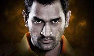 captain beautiful mahendra singh dhoni indian professional cricketer and