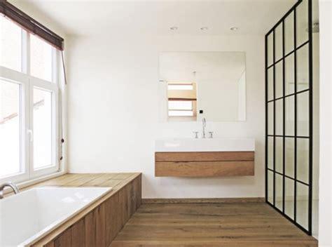 badkamermeubel hout en staal badkamers voorbeelden 187 stalen kozijnen