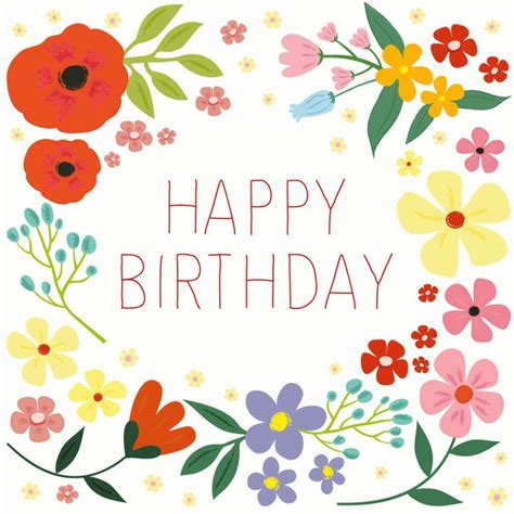 108 best images about happy birthday flower on