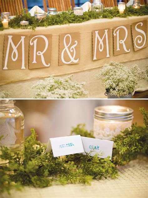 Our Story Wedding   Head Tables, Drink Coolers and Table