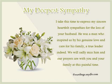 Patient Condolence Letter Condolence Letter To Patients Family Ideas Words Of Sympathy For All Types Of Loss Messages