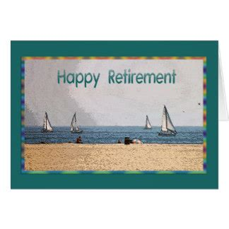 retirement thank you cards zazzle