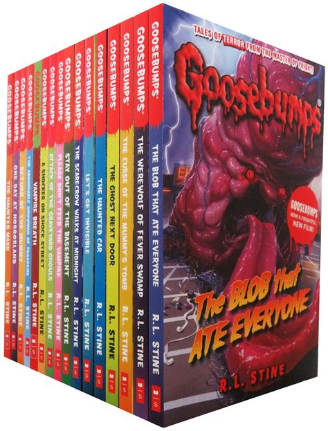 pictures of goosebumps books the classic goosebumps series 18 books set collection