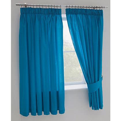 childrens blue blackout curtains colour match kids fiesta blue blackout curtains 168x137cm