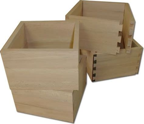 cassetti per mobili cassetti in legno con lavorazione a coda di rondine