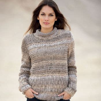 Modele Pull Femme à Tricoter Gratuit