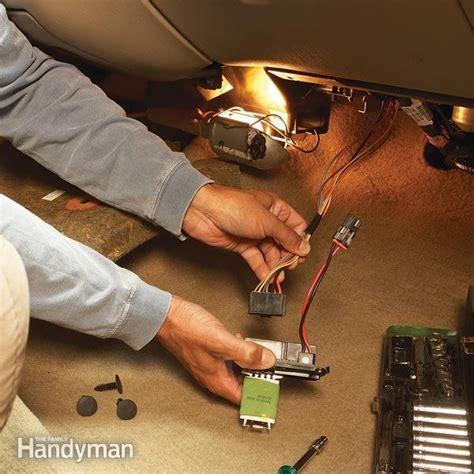 car heater repair tips fixing  blower motor family handyman  family handyman
