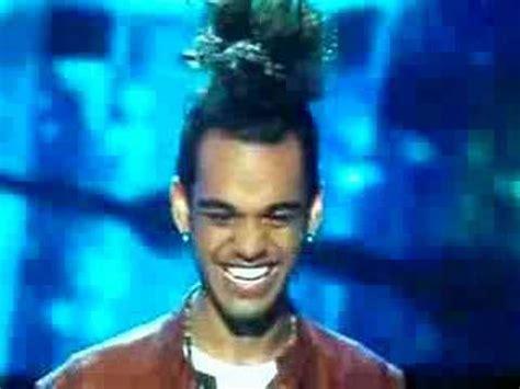 American Idol Says Sayonara To Sanjaya by Sanjaya American Idol Ponyhawk Hair