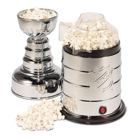 corn maker nhl stanley cup air popcorn maker the green