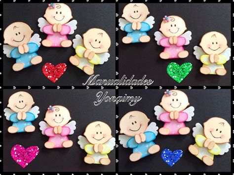 angelito bautizo centro de mesa hecho en goma bautismo angelitas goma manualidades yonaimy angelitos hechos con foamy o goma bebek şekeri goma