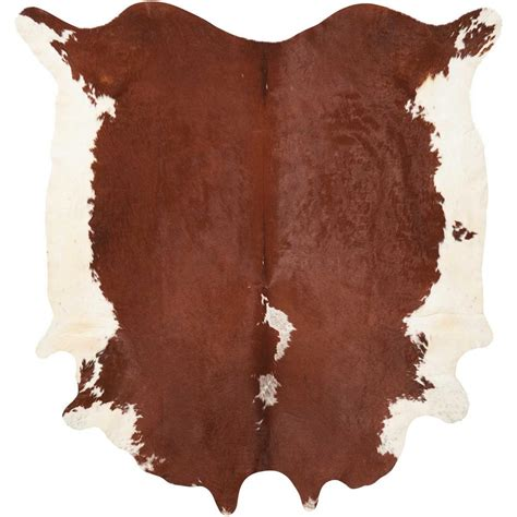 5 11 Brown White mina victory free shape hide brown white 5 ft x 7 ft