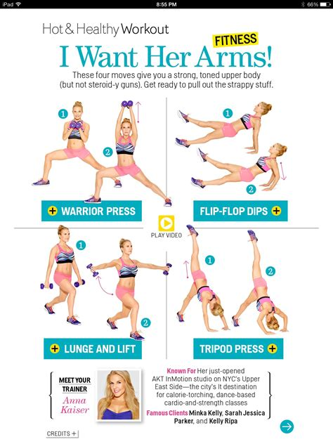 7 Great Exercises To Tone Your Arms by Great Workout For Arms From S Heath Magazine