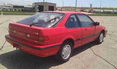 auto air conditioning repair 1995 acura integra on board diagnostic system find used 1988 acura integra ls red coupe 92k honda 86 87 89 90 91 93 94 95 96 01 prelude in