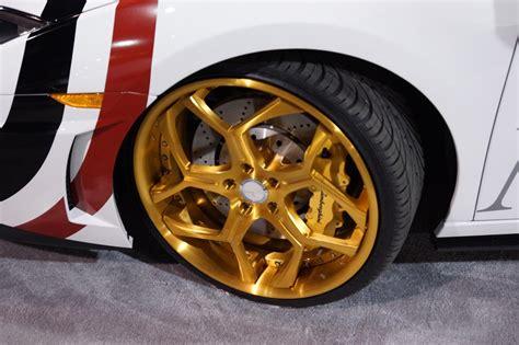 gt haus lamborghini gallardo gold wheels  sema
