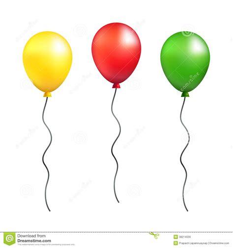 Balloon String - 10 green balloon vector images single balloon with