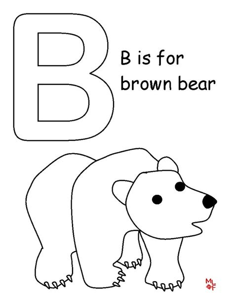 dltk bear coloring pages 17 best images about alphabet on pinterest coloring ice